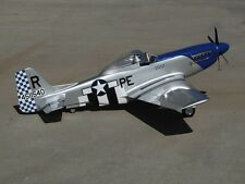 """Scale P51 Mustang  50""""  Giant Scale RC Model AIrplane Printed Plans"""