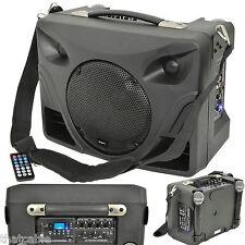 50W Sistema De Altavoces Portátiles al aire libre Pa-micrófono Inalámbrico Móvil Música activo