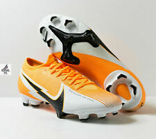 Nike Mercurial Vapor 13 Pro FG Soccer Cleats Laser Orange AT7901-801 Men Size 12