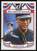 2014 Donruss Diamond Kings Derek Jeter Yankees