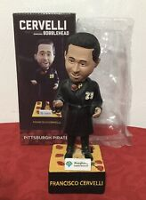 Pittsburgh Pirates ~ MLB Bobblehead Francisco Cervelli Singing That's Amore NEW!