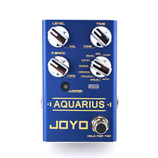 JOYO Aquarius Multi Delay & Looper Guitar Effect Pedal - Revolution R Series