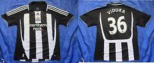 Mark Viduka #36 NEWCASTLE UNITED home shirt ADIDAS 2007-2009 Magpies /adult/ M