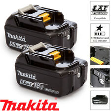 Makita BL1850X2 2 x 18v 5.0Ah LXT Li-ion Genuine Makstar Battery Pack