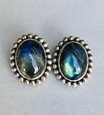 Labradorite Earrings 30.8 g Stephen Dweck Sterling Silver
