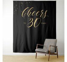 Happy 30th Birthday Photo Backdrop Background Studio Photography Propp