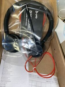 New Plantronics 213934-101 Blackwire 3320 Bw3320 Usb-a Stereo Mute Headset 💥