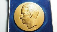 Jetons & Médailles, Belgique, Medal, Baudouin roi des Belges  TTB