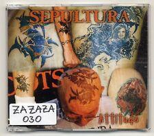 Sepultura Maxi-CD Attitude - 3-track CD - Roadrunner Records RR 2299-3