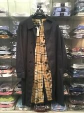 Classic Burberry Trench Coat Rain  Size 50 large Men model shooter