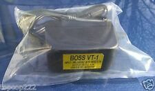 REPLACEMENT POWER ADAPTER FOR THE BOSS VT-1 VOICE CHANGER. BRAND NEW PRODUCT.