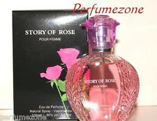 Brand new Story of Rose Ladies perfumes very nice smell 85ml for women