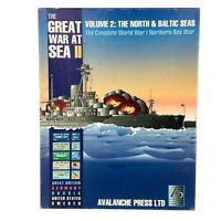 Great War at Sea II: The North & Baltic Sea Avalanche Press Board Game UNPUNCHED