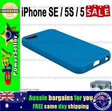 Genuine Speck Case Cover For iPhone SE 5S 5 Pixel Skin Strong Tough Slim Blue