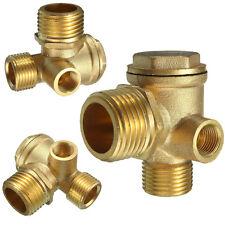 Luft Kompressor Armaturen Gold Messing Female Gewinde Rückschlagventil