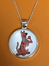 Scooby Doo Enamel Dog Silver 8mm Floating Charm for Memory Lockets 1 piece
