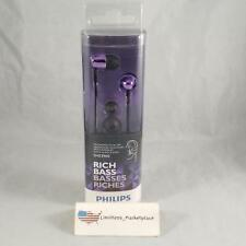Philips In-Ear Headphones - Smooth Sounds, Solid Bass - Purple SHE3900