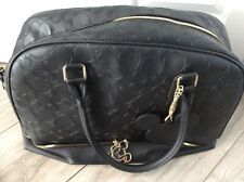 Mickey Minnie Mouse over night travel bag black used once