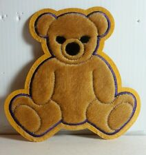 "Serenity/Firefly Kaylee's Bear Flocked Costume Patch- 6"" Tall (Sepa-Bear)"