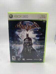 Batman: Arkham Asylum (Microsoft Xbox 360, 2009) GAME COMPLETE CIB Video Game