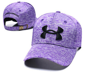 Mens Women Embroidered UA Under Armour Baseball Cap Classic Sports Fit Golf Hat