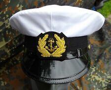 Kapitänsmütze Schirmmütze Marinemütze ProLine weiss Größe 61