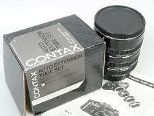 Contax AUTOM. anelli tra 13, 20 U. 27mm per Contax/Yashica Extension Tube Set