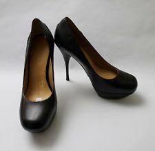 L.A.M.B. Shoes Black Pumps Heels Stiletto Platform Gwen Stefani Womens Size 9 M
