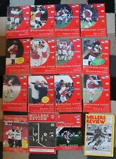More details for bundle of rotherham united fc football programme's x17 1982-2000