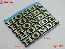 8cm Gold Oil Fuel Tank Fairing Emblem Badge Decals for Motors Rcing Honda CB CBR