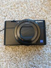 Sony DSC-RX100 III 20.1 MP Compact Digital Camera - Black, with spare battery