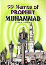 99 Names of Prophet Muhammad (pbuh) (Full Colour - Pocket Size - PB)
