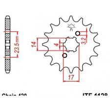 Pignon acier 11 dents jt chaîne 420 derbi 50 Jt sprockets JTF1128.11