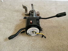FORD F150 BRONCO TILT STEERING COLUMN W/ AUTOMATIC TRANS OVERDRIVE BUTTON  W/KEY
