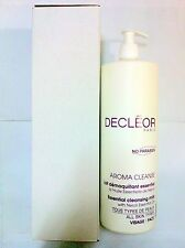Decleor Aroma Cleanse Essential Cleansing Milk 1000ml Salon Size Free Shipping #