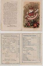 #FAMIGLIA GENOVESE DI GAETANO PELUSO- LISTINO PREZZI DELLA CASA FONDATA 1832..