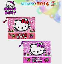 TROUSSE DE TOILETTE HELLO KITTY 22X16 CM IMPERMEABLE