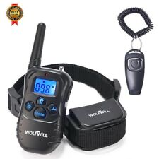 Wolfwill Remote Pet Dog Training Collar, 300 Yd (environ 274.32 m) Rechargeable Imperméable Neuf