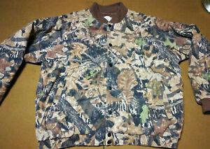 FIELDSTAFF Fleece Jacket By Mossy Oak Mens Apparel Tag 2XL Snap Up