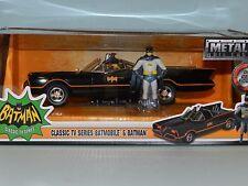 Jada 1/24 Classic 1960s TV Series Batmobile With Batman & Robin Figures MiB
