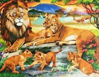 LION FAMILY JIGSAW PUZZLE 500 PIECES BRAND NEW & SEALED **FAST DISPATCH**