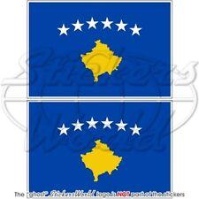 Kosovo lfd0095 Autoaufkleber Sticker Fahne Flagge Land