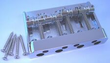 Genuine Fender High Mass Dlx 4-String Jazz P Precision Bass Bridge 008-1460-000