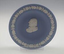 "Vintage Wedgwood Jasperware Blue Shakespeare Tray, Personality Tray, 4"""