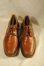 Johnston & Murphy Men Shoe 8.5 M Vtg Brown Leather After Hours Lace Up Loafer
