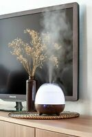 Ultrasonic Essential oil diffuser and humidifier, 600 ml, Aroma, 8 LED lights