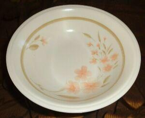 Staffordshire Biltons Coloroll Dessert Bowl Peach Flowers
