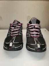 Nike Shox Navina Black Purple Running Training Shoes 356918-015 Womens sz 6