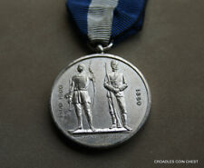 NATIONAL RIFLE ASSOCIATION  SILVER ISSUE MEDAL  ORIGINAL RIBBON UN NAMED #SAM60