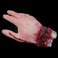 1Pc Lifesize Bloody Haunted Hand Party Decoration Scary Halloween Horror Prop
